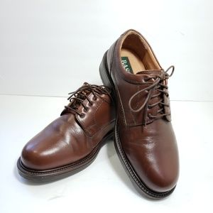 Mens Bass Brown Leather Oxford Dress/Casual Shoe